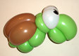 Turtle Balloon Twisting