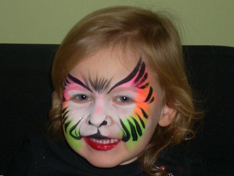 Face Painting Rainbow Designs Rainbow Kitty Face Painting