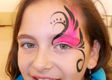 Princess Eye Face Painting