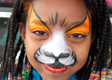 Orange Kitty Face Painting