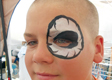 Skull Eye Face Painting