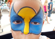 Wolverine Face Painting