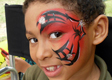 Spider Eye Face Painting