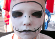 Jack Skellington Face Painting