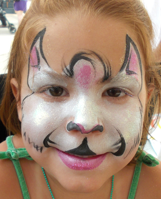 Kitty Face Painting